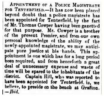 thomas cowper appointment